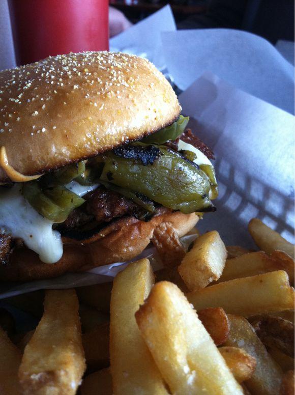 yummy burger date!